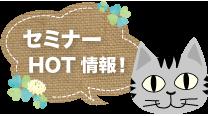 オンラインセミナーHOT情報!