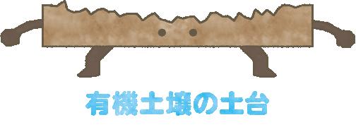 有機土壌の土台